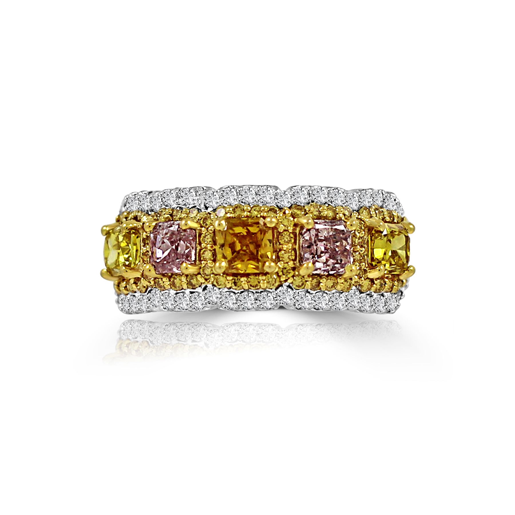 Colorstar Fancy Color Diamond Ring