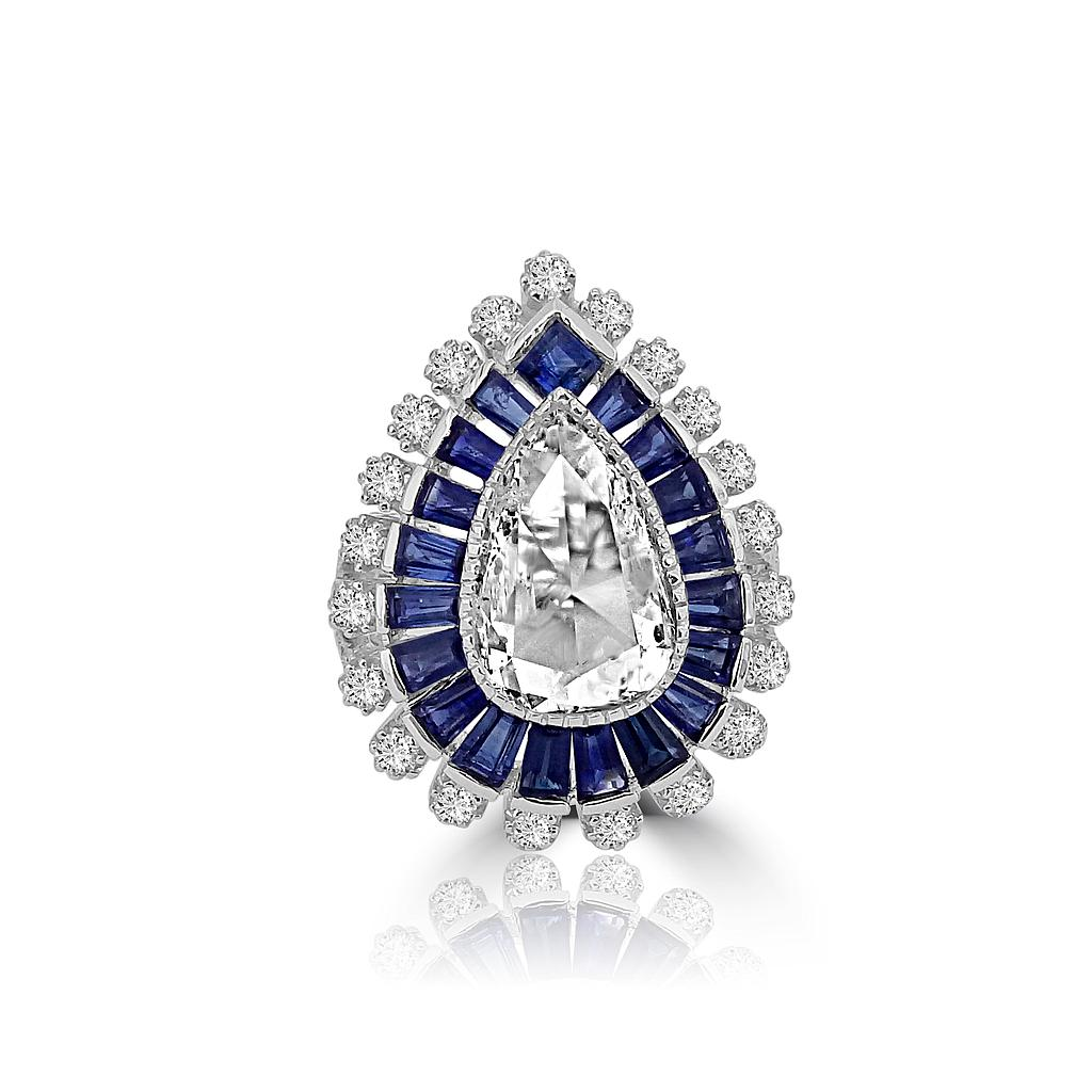 white diamonds blue ring cathedral conflict with free cut birthstone earth gold rare and diamond solitaire engagement products sapphire cushion september